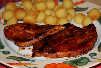 Poulet sauce barbecue, façon souvenir de vacances d'Audrey