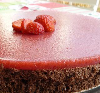 Croustimousse chocolat fraises