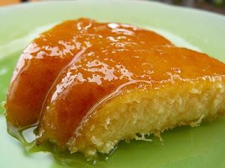 Gâteau flan à l'ananas