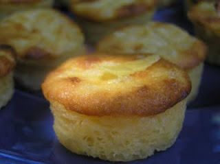 Petits puddings de riz rhum citron