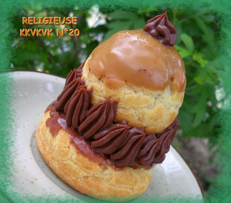 KKVKVK N°20 ET SA RELIGIEUSE CAFÉ/CHOCOLAT!!