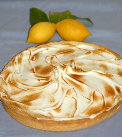 Ma THE tarte au citron meringuée !!!