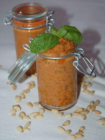 Pesto Rosso (pesto de tomates séchées)