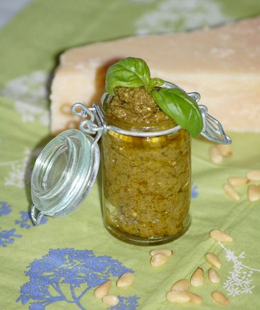 Pesto Génois (pesto alla genovese)